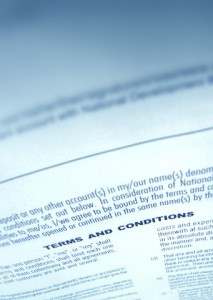 Close up a business agreement